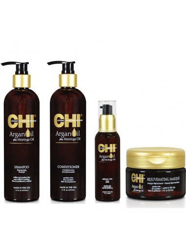 CHI Argan Oil Plus Moringa Kit Complet