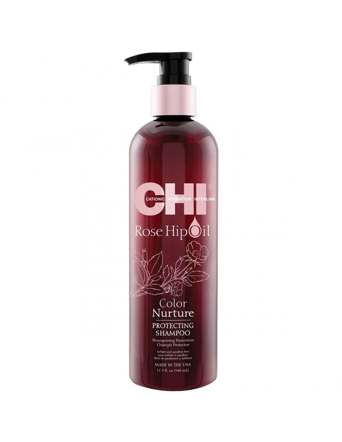 Shampooing Chi Rose Hip Oil