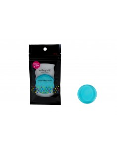 Eponge Maquillage Silicone Rolling Hills - Bleu