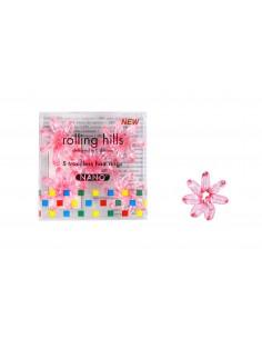 Elastique Cheveux Nano Rolling Hills - Transparent Pink