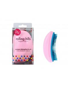 Brosse Démêlante Compacte Rolling Hills - Pink