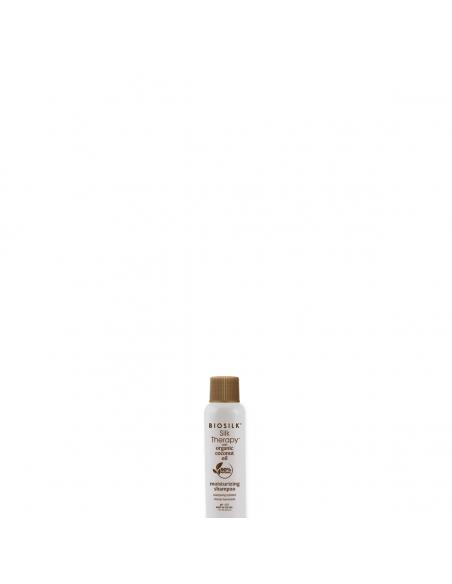 BioSilk Silk Therapy Cure Soyeuse & Organic Coconut Oil Moisturizing Shampoo
