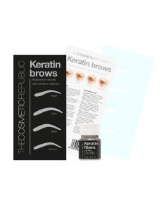 Keratin Eyebrows Châtain Clair